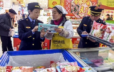 """河北阜城:元宵""""体检""""保舌尖上的安全"""