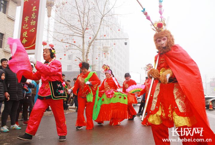 河北武邑:传承民俗文化 过最有味的元宵节