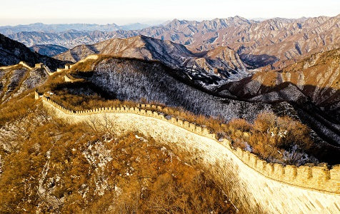北京:箭扣长城雪后美如画