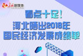 【图解】河北2018年国民经济成绩单