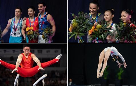 祝贺!体操世界杯墨尔本站 尤浩、赵诗婷摘金