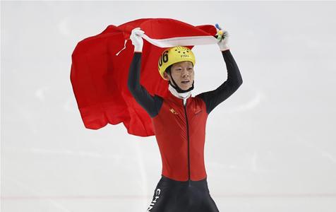 短道速滑——安凯为中国代表团夺得首金