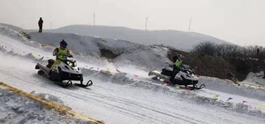 国内唯一雪地摩托车类国家级赛事在承德举办