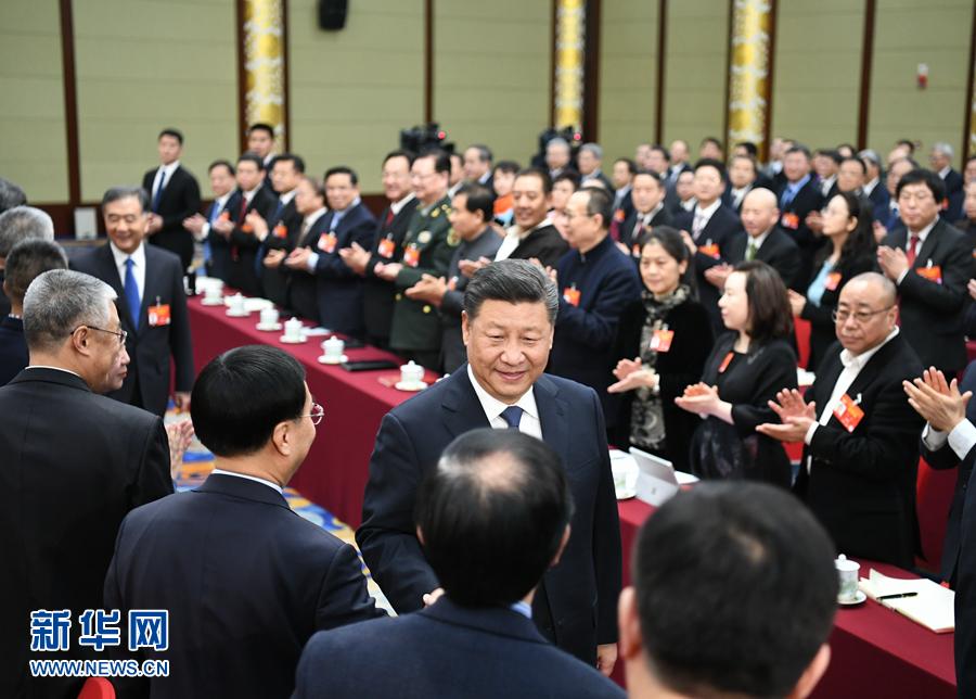 习近平在看望参加政协会议的文艺界社科界委员时的讲话在河北省引起强烈反响