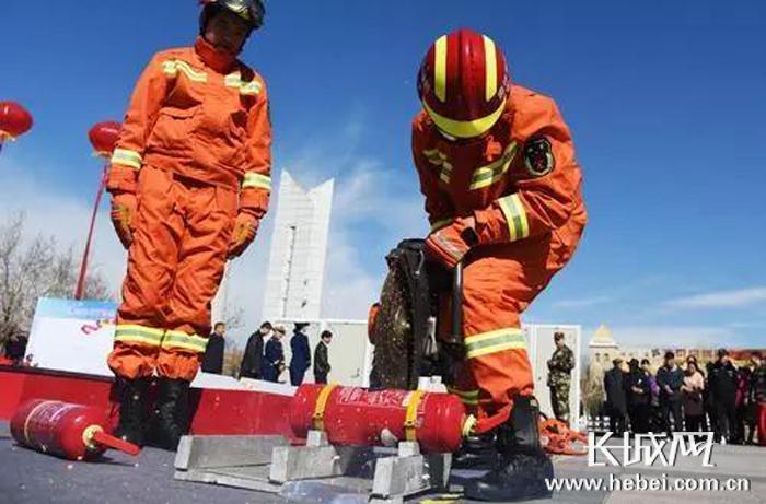 廊坊市集中销毁一批假冒伪劣消防产品 维护消防安全环境