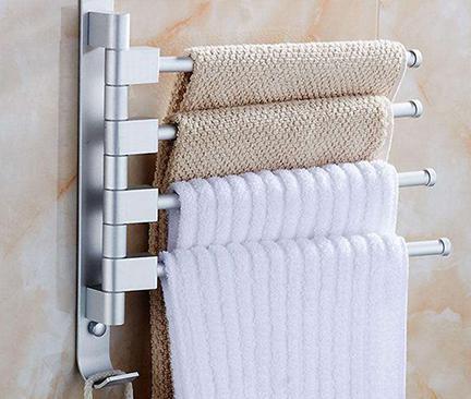 超简易教程!浴巾架怎么安装才牢固?