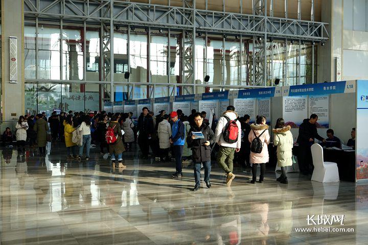 河北省春季大型人才招聘会3月30日举办
