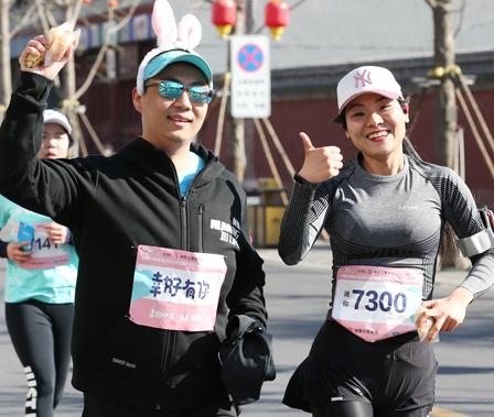 【高清图组】2019石家庄(正定)女子半马 选手服装争奇斗艳