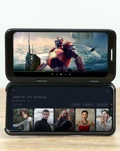 LG双屏5G智能手机