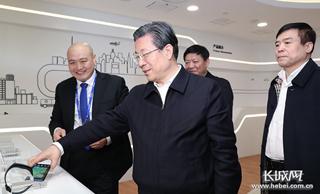 王东峰在廊坊市调研检查