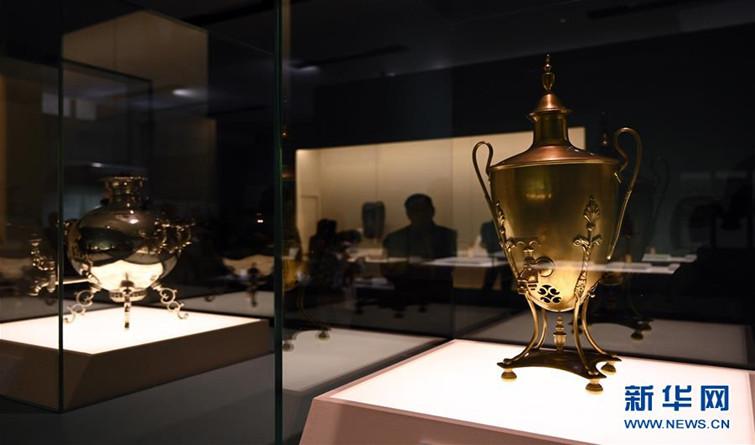 丝绸之路国家博物馆文物精品展在京开幕