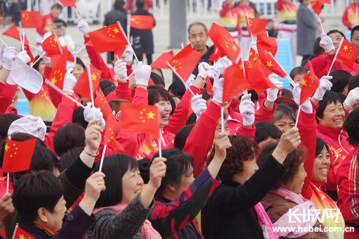 安平县第三届油菜花文化旅游节开幕