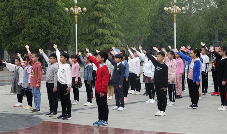 """""""全民阅读 书香邢台"""" 快闪宣传片开拍"""