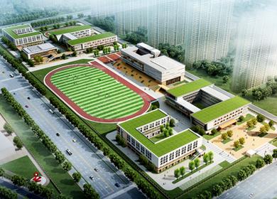 河北省首家政府购买学位的民办学校即将在迁安落成