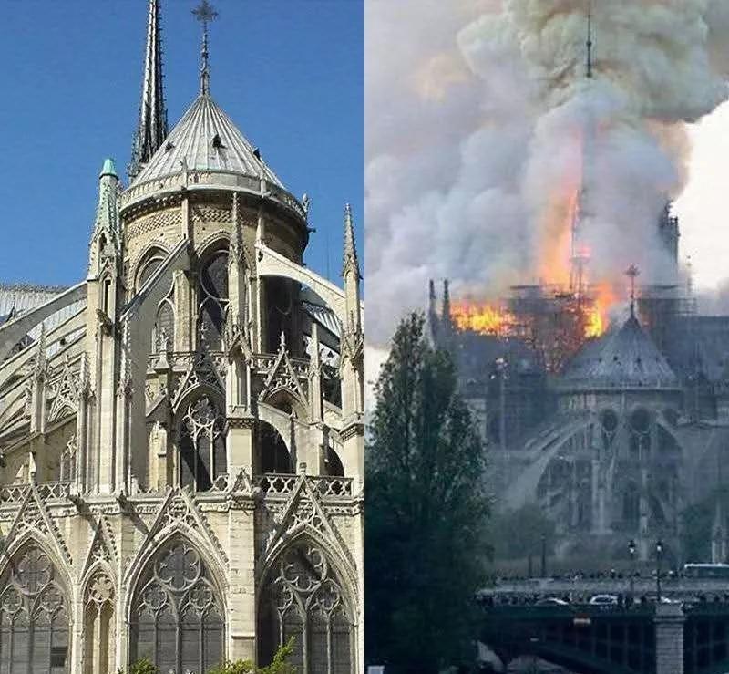 巴黎圣母院大火,我听到历史的心碎声