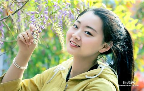 春天的微笑 ——河北青年管理干部学院即景