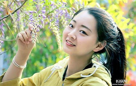 春天里的微笑 ——河北青年管理干部学院即景