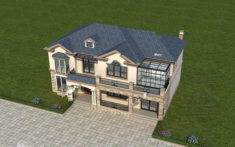 优秀二层别墅 值得一建