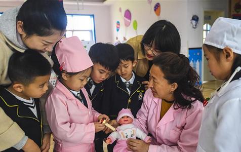 河北故城:预防接种 守护生命