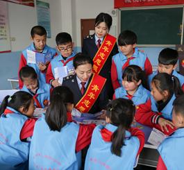 乐亭:小猪佩奇话税收 税法宣传进校园