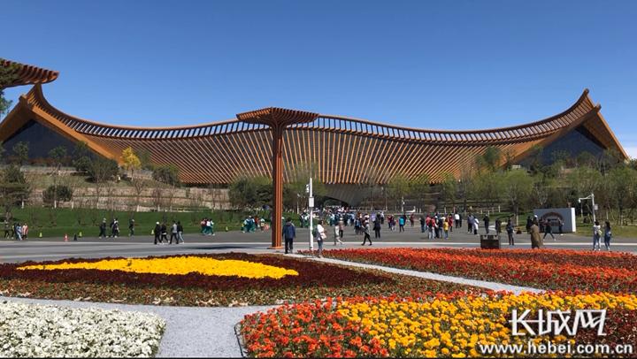微视频 【北京世园会】两分半带你游览中国馆!