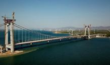 怀来:官厅水库公路大桥即将竣工
