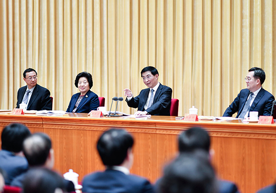 全国宣传部长会议在京召开 王沪宁出席并讲话