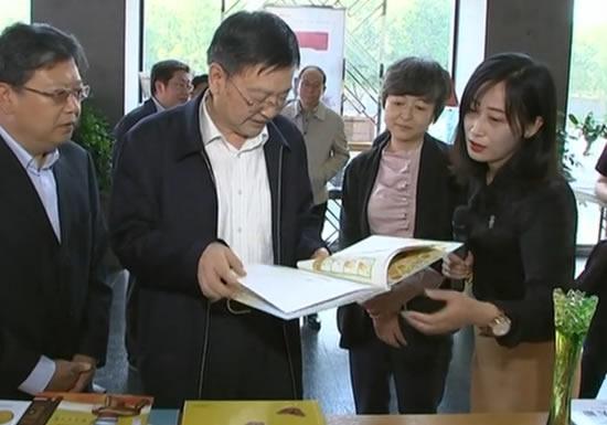 焦彦龙到河北出版传媒集团调研