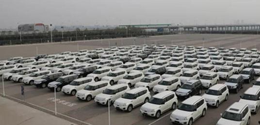 唐山曹妃甸综合保税区迎来最大规模进口汽车