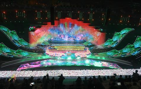 """【高清组图】观""""亚洲文化嘉年华"""" 赏亚洲文明绚丽之花"""