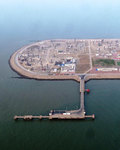 冀东油田:打造美丽人工岛