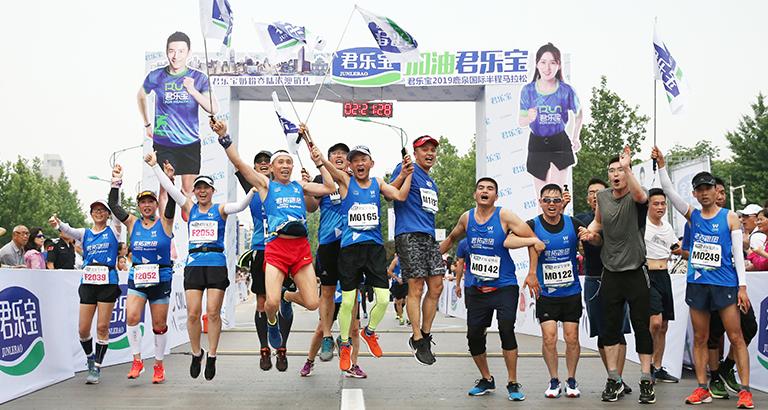 2019鹿泉国际半程马拉松比赛圆满结束<br>肯尼亚选手分获男女组冠军