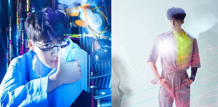 李易峰杂志封面大片曝光 变身机器人对话未来
