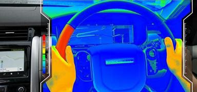 方向盤配溫度提醒系統,捷豹路虎的玩法有點潮