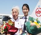 82歲硬核奶奶再飛行