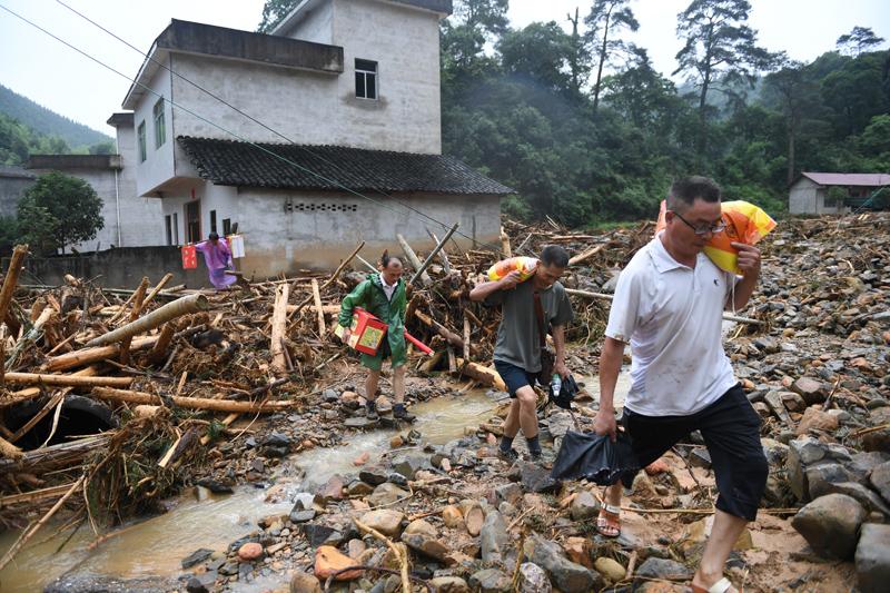 廣西全州:緊急救援