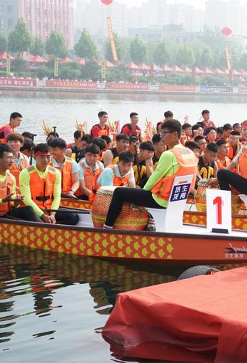 直播预告 6月7日,石家庄首届龙舟文化节首站<br>行唐颖水河上演龙舟大战