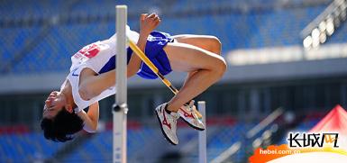 第二届全国青年运动会<br>田径项目体校男子甲组预赛在河北拉开帷幕