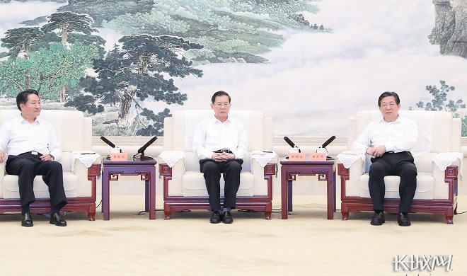 郝明金率全國人大常委會調研組到河北省開展調研檢查