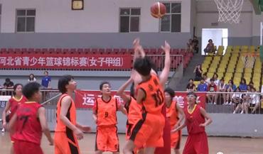 河北省青少年篮球锦标赛(女子甲组)辛集开赛