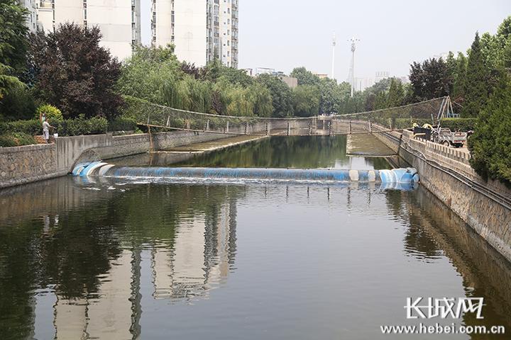 追踪:石家庄民心河污染河段已清理干净!