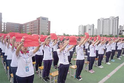 冀州中学举办将军后代红色故事宣传教育活动