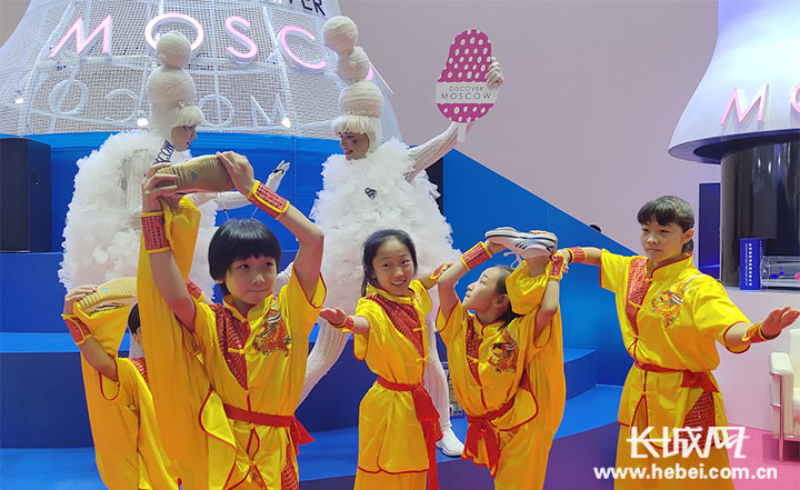 衡水市戳脚功夫亮相2019北京国际旅游博览会