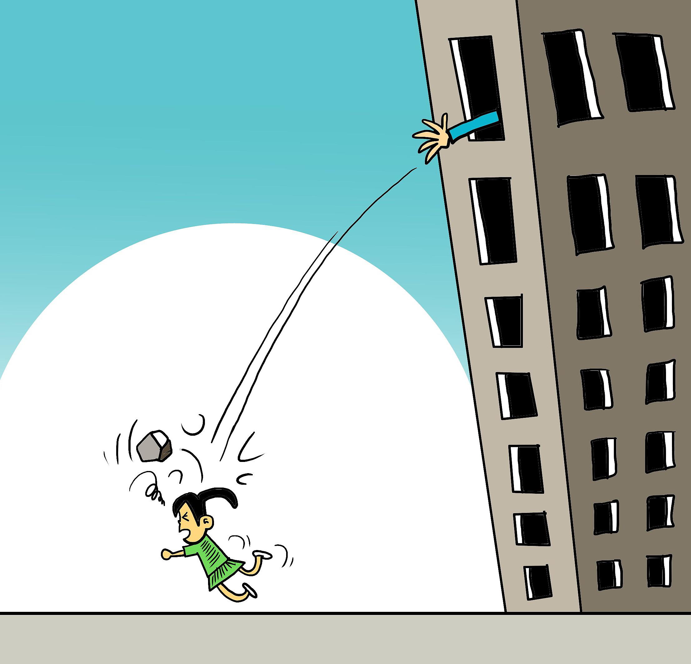 高科技可以对抗高空抛物的恶习吗?,cf火凤全能辅助