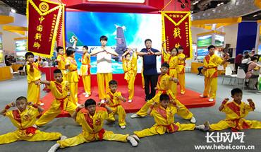 衡水市戳腳功夫亮相2019北京國際旅游博覽會
