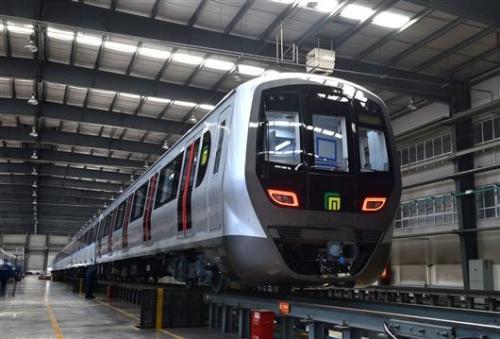 石家庄地铁1号线二期26日开通试运营