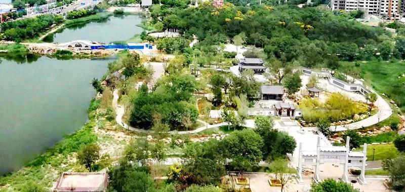 衡水市人民公园今日盛装开园