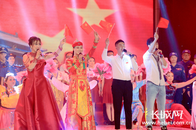 """保定涿州市举办庆""""七一""""主题晚会"""