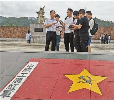 红军过夜睡门板(壮丽70年 奋斗新时代·记者再走长征路)