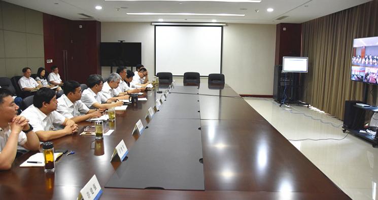 """华北医疗健康集团召开 """"不忘初心、牢记使命""""主题教育动员部署会"""